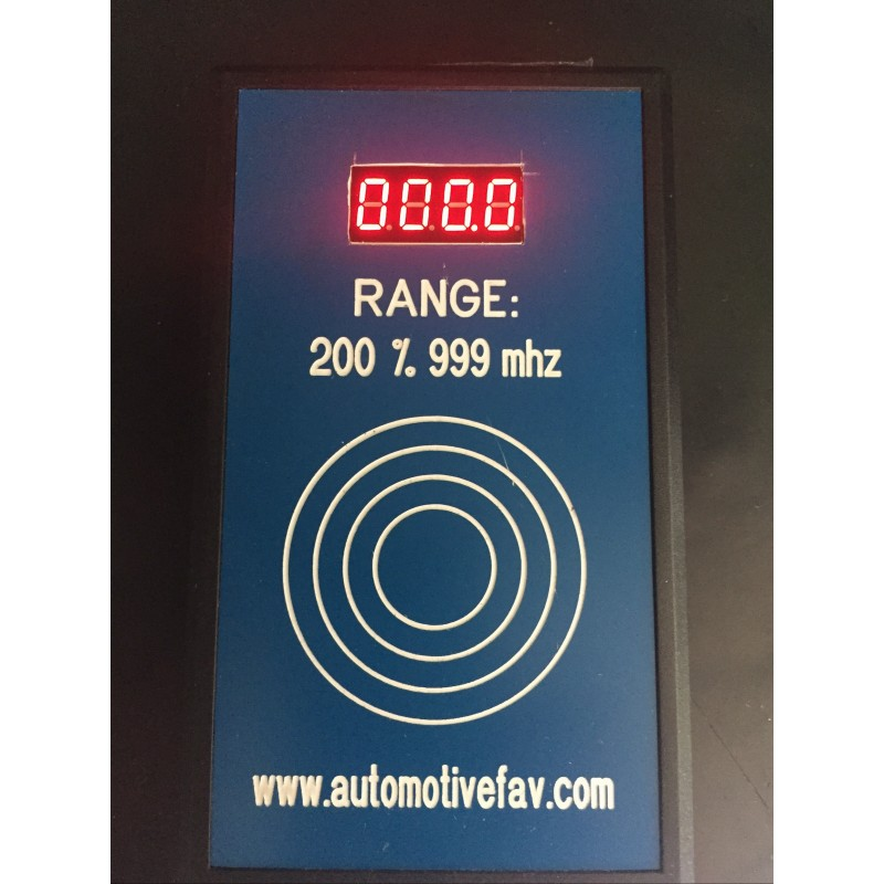 Lettore Frequenze Per Telecomandi Automotive Fav